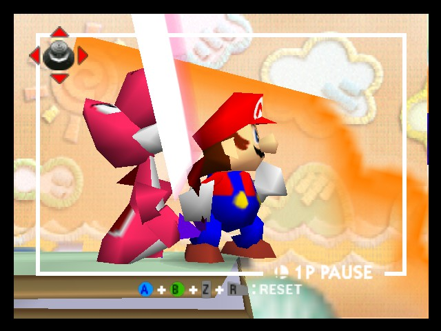 Paper Mario - Mario Wars - User Screenshot
